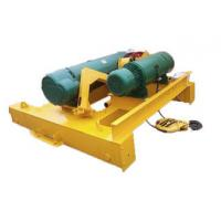Best 0.25-500t Electric Wire Rope Hoist Trolley For Double Beam Heavy Duty Crane wholesale