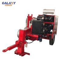 China Max Intermittent Pull 90KN Hydraulic Pulling Machine With 8 Groove Number on sale
