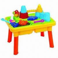 China Toy Table with 11pcs of Sand Beach on sale