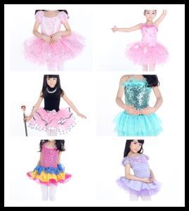 Best 8000 children ballet tutu cosutmes /Latin dance dress wholesale