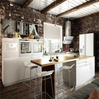 Best Contemporary Furniture Solid Hardwood Kitchen Cabinets Optional Surface Treatment wholesale