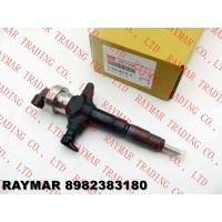 Best Genuine diesel fuel injector 8982383180, 8980769551, 8980769552 for ISUZU 4JJ1 engine wholesale
