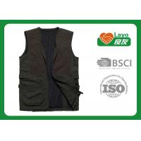China 100% Polyester Outdoor Travel Vest Womens With Pockets Various Design on sale