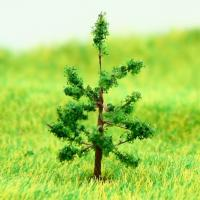 Best N Gauge Train Layout Miniature Model Trees Green Avenue Wire Tree Hoop Pine 3.2cm wholesale