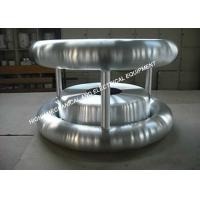 6061 Grade Aluminum High Voltage Corona Rings For Gas Insulated Switchgear