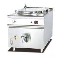 Buy cheap Gas Soup Kettle Western Kitchen Equipment 100L Capacity Soup Boiling Pan from wholesalers