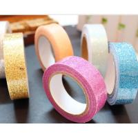 Best 15mm*4m pretty pasty glitter tape decorative tape pressure sensitive tape wholesale