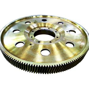 China Forging CNC Grind 2000mm gearbox 560HBS Metal Steel Worm Gears on sale