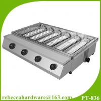 Best High quality commercial stainless steel gas smokeless BBQ grill wholesale