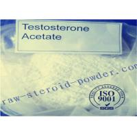 China Legal Testosterone Acetate Raw Steroid Powders , Fat Loss Pharmaceutical Steroids wholesale