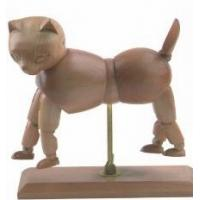 Best Vivid Craft Artist Wooden Manikin Dog / Cat Mannequin Good Design wholesale