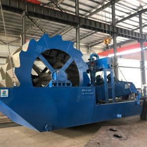 Best High Capacity  Wheel Sand Washing Machine 150 Tons Per Hour Capacity AC Motor wholesale