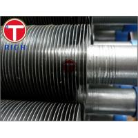 China Stainless Steel Extruded Fin Tube Astm A213 For Boiler Heat Exchange on sale