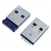 China USB A / M 90 Degree Sinking Board Tyle USB  Female Connector on sale