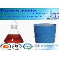 Best Furan Resin Foundry Chemicals CAS 2512-86-6 C5H6O2 Red Brown Transparent Liquid wholesale