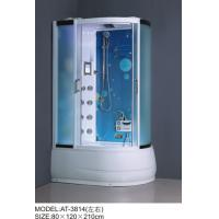 Best Safety Complete Shower Cabins Left / Right ABS Complete Shower Room With Tray wholesale