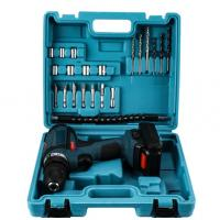 Best 12V / 18V / 21V 25pcs Drill Tool Kit , Blue Sockte Cordless Power Tool Sets wholesale