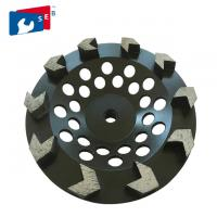 China 5 inch Black Arrow Segmented Cup Wheel with Wet Grinding for Granite on sale