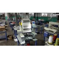 Best 110V - 220V 1 Head Commercial Embroidery Machine , 12 Needle Embroidery Machine 540 x 375mm wholesale