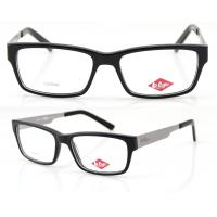 Best Men Retro Handmade Acetate Eyeglasses Frames, Black Acetate Optical Eyewear Frames wholesale