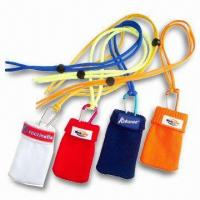 Best Silk Screen Printed Mobile Phone Pouches, Available in Various Sizes and Colors wholesale