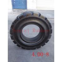 China forklift tyre 4.00-8 forklift solid tire on sale