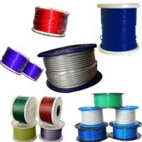 China Tello PVC Coated Stainless Steel Wire Rope on sale