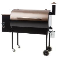 Best Charcoal Wood Pellet Burning Grills / Flame Safety Wood Chip Smoker Grill wholesale