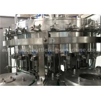 Best 6.57KW Power Carbonated Drink Filling Machine PE Srew Cap For Gas Contained Beverage wholesale
