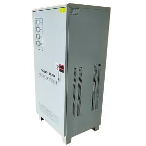 China 3 Phase AC Servo Motor Type High-precision Auto Voltage Stabilizer on sale