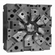 Best Steel NAK80 52 - 56 HRC Cold Runner PET Polish Custom Plastic Injection Mould Tooling wholesale