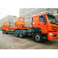 Best 10 Wheeler 20ft 40ft Container Side Lifter / Container Side Loader Trailer ISO Approval wholesale