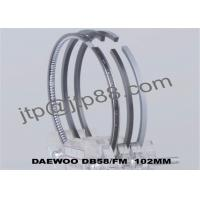 China Cast Steel Engine Piston Rings DB58 For Excavator Spre Parts 65.02503-8058 Korea Daewoo on sale