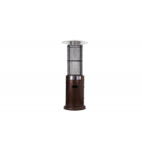 Best Outdoor free standing Silver Stainless Steel Cylindrical patio heater outside space heater wholesale