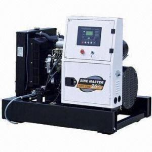 Best Isuzu Engine Series Diesel Generator Set, 22, 27kW Output Continuous with 60Hz Frequency wholesale