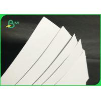 China High Bright 0.6mm 0.9mm 1.2mm White Water Absorbent Paper For Coaster on sale
