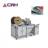 China Manual Feeding 1/4''-1'' 75mm Double Wire Binding Machine on sale