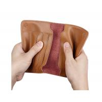 Best Leather passport bag ticket holder travel document storage multi-function card package wholesale