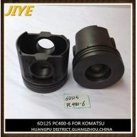 Best excavator engine piston, komatsu engine part, S6D125 piston fit to pc400-6 wholesale