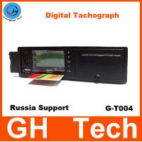Cheap GPS Digital Tachograph GH G-T004 with printer/RS232 for Car/Bus Speed sensor Support Russian GPS / Glonass System for sale