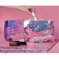 Best Promotional EVA cosmetic pouch bag with a rubber handle,eco friendly transparent BSCI women EVA cosmetic bag, bagease wholesale