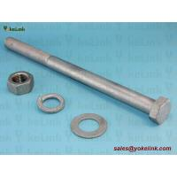 "Best 1""-8 ASTM F3125 Grade A325 Hot Dipped Galvanized Steel Structural Bolt w/A563 DH Nut & F436 Washer wholesale"