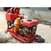 China GK200 Mobile Geological Mining Core Drill Rig Diamond Core Drilling Machine on sale