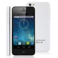 Best i5C C5 Phone 3G 4.0 inch screen MTK6572W Dual Core 1.3GHz Android 4.2.2 Dual Camera Dual S wholesale