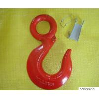 Best eye hoist hook with latches  red color wholesale