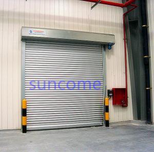 China AC 220V 1 Phrase 50HZ Automatic Roller Door Exterior Security Door on sale