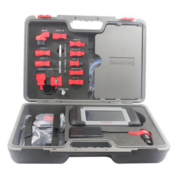 Cheap Windows CE Automotive Diagnostic Tools Autel Maxidas Ds708 Obd2 Scanner for sale