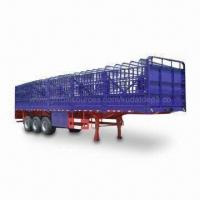 Best Grid Type Semi Trailer with 1,840mm F/R Wheelbase, Measures 12,995 x 2,500 x 3,800mm wholesale
