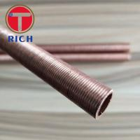 Round Copper Coated Alloy Steel Pipe Heat Exchanger Iow Finned Tube from TORICH