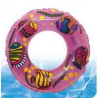 Best Inflatable swim ring with flatfishes cartoon pattern wholesale